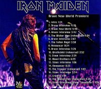 The Iron Maiden Commentary | Tours | Brave New World Tour 2000-01