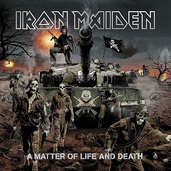 A Matter Of Life And Death – Cover