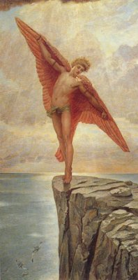 William Blake Richmond – Icarus
