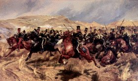 Richard Caton Woodville – The Charge of the Light Brigade