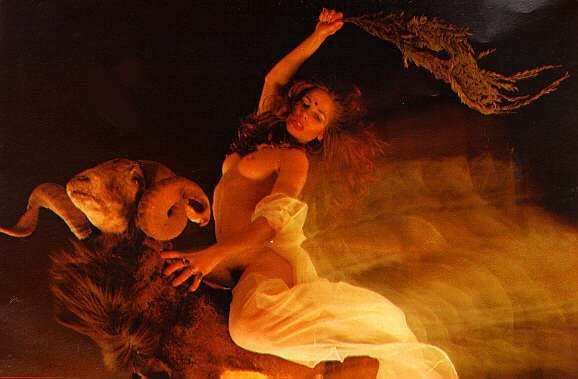 Babalon riding the Beast