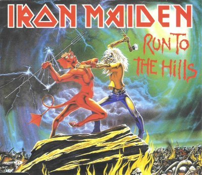 Iron Maiden- Run to the Hills single 2002