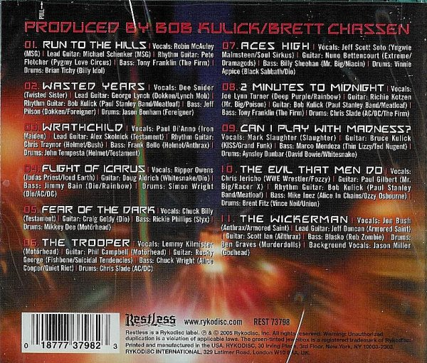 Numbers From The Beast – Back Cover